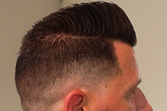 Quiff Flattop Pomp Faded
